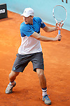 Dominic Thiem, Austria, during Madrid Open Tennis 2016 match.May, 3, 2016.(ALTERPHOTOS/Acero)