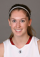 STANFORD, CA - SEPTEMBER 28:  Hannah Donaghe of the Stanford Cardinal women's basketball team poses for a headshot on September 28, 2009 in Stanford, California.
