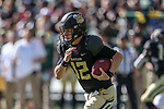 Baylor Bears quarterback Charlie Brewer (12) in action during the game between the TCU Horned Frogs and the Baylor Bears at the McLane Stadium in Waco, Texas.