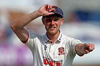 Jamie Porter of Essex chats with the Essex fans during Essex CCC vs Gloucestershire CCC, LV Insurance County Championship Division 2 Cricket at The Cloudfm County Ground on 5th September 2021