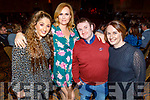 Tracy Moore, Ruth Wallace, Mark and Mary Deane (Keel) enjoying the Bon Jovee fundraiser in the Brandon Hotel on Saturday.