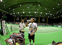 13-02-12, Netherlands,Tennis, Rotterdam, ABNAMRO WTT, Training Frederer