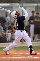 Josh Morgan, #3 of Orange County Lutheran High School, CA for the GBG Marucci Team during the WWBA World Championship 2013 at the Roger Dean Complex on October 25, 2013 in Jupiter, Florida. (Stacy Jo Grant/Four Seam Images)