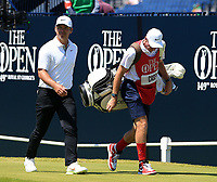 18th July 2021; Royal St Georges Golf Club, Sandwich, Kent, England; The Open Championship,  Golf, Day Four; Paul Casey (ENG) walks from the first tee