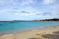 Cala del Principe auf der Halbinsel Capriccioli, , Costa Smeralda, Gallura, Provinz Olbia-Tempio, Nord Sardinien, Italien