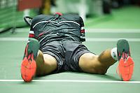 Rotterdam, The Netherlands, February 13, 2016,  ABNAMROWTT, Martin Klizan (SVK)<br /> Photo: Tennisimages/Henk Koster