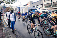 Luka Mezgec (SVN/Mitchelton Scott) at the finish<br /> <br /> 82nd Gent-Wevelgem in Flanders Fields 2020 (1.UWT)<br /> 1 day race from Ieper to Wevelgem (232km)<br /> <br /> ©kramon