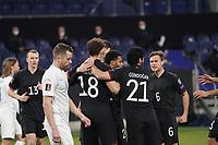 celebrate the goal, Torjubel zum 1:0 um Leon Goretzka (Deutschland Germany) - 25.03.2021: WM-Qualifikationsspiel Deutschland gegen Island, Schauinsland Arena Duisburg