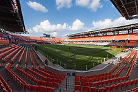 Houston, TX - Saturday June 15, 2019: NWSL regular season match between the Houston Dash and the Orlando Pride at BBVA Stadium.