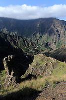 im Ribeira da Garca, Santo Antao, Kapverden, Afrika