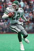 David Singh Sidoo Saskatchewan Roughriders 1987. Photo F. Scott Grant