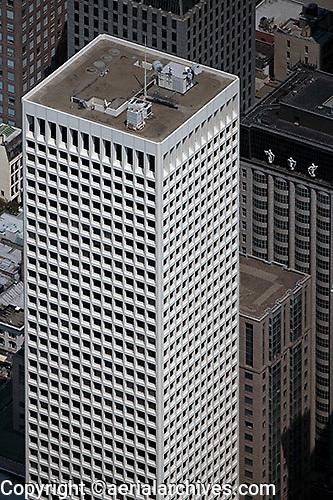 aerial photograph 650 California Street Hartford Building office tower San Francisco