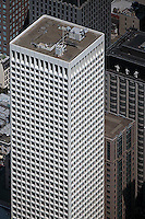 aerial photograph 650 California Street Hartford Building office tower San Francisco