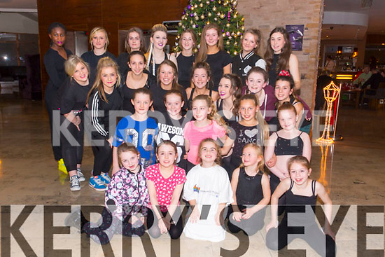 Cassie Leens School of Dance at the Different Cultures night in aid of the Butterfly project at Fels Point Hotel on Saturday