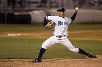 August 4, 2009: Everett AquaSox left-handed pitcher Jose Rios throws against the Boise Hawks in a Northwest League game at Everett Memorial Stadium in Everett, Washington.