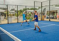 Den Bosch, Netherlands, 13 June, 2017, Tennis, Ricoh Open, Padel<br /> Photo: Henk Koster/tennisimages.com