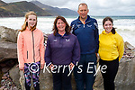 The Sweeney family from Kilcummin enjoying Rossbeigh beach on Sunday, l to r: Tina, Elizabeth, Ger and Saoirse Sweeney.