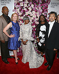 Samuel L. Jackson, Heather Hitchens, Cicely Tyson, LaTanya Richardson Jackson and David Henry Hwang attends the 2016 American Theatre Wing Gala honoring Cicely Tyson at the Plaza Hotel on September 22, 2016 in New York City.