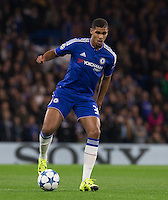 Ruben Loftus-Cheek of Chelsea on the ball during the UEFA Champions League match between Chelsea and Maccabi Tel Aviv at Stamford Bridge, London, England on 16 September 2015. Photo by Andy Rowland.