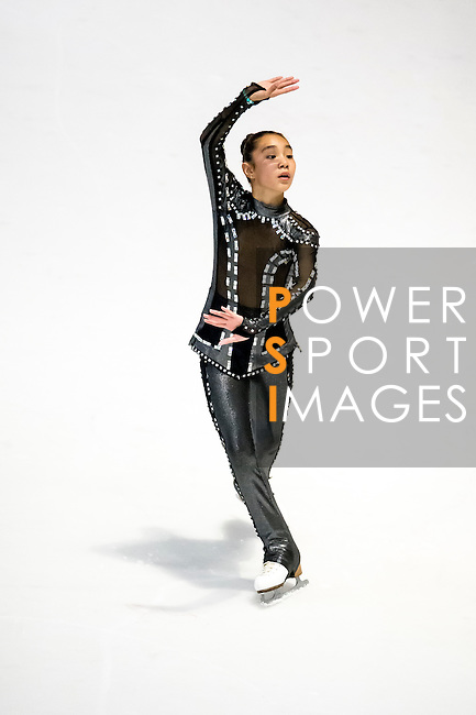 Dariga Naralieva competesduring the Asian Junior Figure Skating Challenge 2015 on October 07, 2015 at the Festival Walk Mall in Hong Kong, China. Photo by Aitor Alcalde/ Power Sport Images