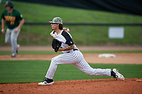 UCF Knights relief pitcher Zack Helsel (16) delivers a pitch during a game against the Siena Saints on February 17, 2019 at John Euliano Park in Orlando, Florida.  UCF defeated Siena 7-1.  (Mike Janes/Four Seam Images)