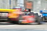 Will Power (AUS), in his Verizon Team Penske car, winning the Baltimore Grand Prix in Baltimore, Maryland on September 4, 2011