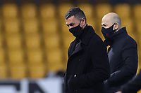 Paolo Maldini Technical area Director of AC Milan and Ivan Gazidis Chief executive officer of AC Milan wearing the mask Covid-19 prior to the Serie A football match between Benevento Calcio and AC Milan at stadio Ciro Vigorito in Benevento (Italy), January 03rd, 2021. <br /> Photo Cesare Purini / Insidefoto