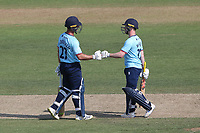 Ryan ten Doeschate and Adam Wheater of Essex during Hampshire Hawks vs Essex Eagles, Royal London One-Day Cup Cricket at The Ageas Bowl on 22nd July 2021