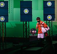 Rotterdam, The Netherlands, 28 Februari 2021, ABNAMRO World Tennis Tournament, Ahoy, First round match: Kei Nishikori (JPN) <br /> Photo: www.tennisimages.com/henkkoster