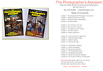 The Photographer's Assistant by John Kieffer, Table of Contents, Allworth Press