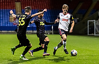 Bolton Wanderers' Ronan Darcy breaks<br /> <br /> Photographer Andrew Kearns/CameraSport<br /> <br /> EFL Papa John's Trophy - Northern Section - Group C - Bolton Wanderers v Newcastle United U21 - Tuesday 17th November 2020 - University of Bolton Stadium - Bolton<br />  <br /> World Copyright © 2020 CameraSport. All rights reserved. 43 Linden Ave. Countesthorpe. Leicester. England. LE8 5PG - Tel: +44 (0) 116 277 4147 - admin@camerasport.com - www.camerasport.com