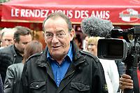 Jean-Pierre PERNAUT (parrain de la fete des loges) - INAUGURATION FETE DES LOGES SAINT-GERMAIN-EN-LAYE - 01/07/2017 - France