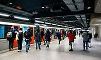 Nederland  Amsterdam -  2020.   Metro.   Foto : ANP/ HH / Berlinda van Dam