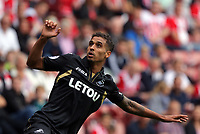 Kyle Naughton of Swansea City in action during the Premier League match between Southampton and Swansea City at the St Mary's Stadium, Southampton, England, UK. Saturday 12 August 2017