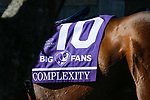 November 7, 2020 :Complexity walks the paddocks before the Big Ass Fans Dirt Mile on Breeders' Cup Championship Saturday at Keeneland Race Course in Lexington, Kentucky on November 7, 2020. Carolyn Simancik/Breeders' Cup/Eclipse Sportswire/CSM