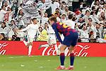 Real Madrid's Mariano Diaz (l) and Lucas Vazquez celebrate goal during La Liga match. March 1,2020. (ALTERPHOTOS/Acero)