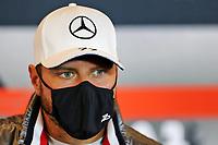 8th October 2020, Nuerburgring, Nuerburg, Germany; FIA Formula 1 Eifel Grand Prix;  77 Valtteri Bottas FIN, Mercedes-AMG Petronas Formula One Team