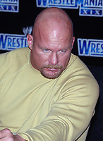 Wrestlemania XIX Press Conference  Stone Cold Steve Austin 2003                                    By John Barrett/PHOTOlink