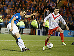 Jon Daly scores his second goal and Rangers sixth of the night