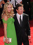 Michael J Fox & wife at The 61st Primetime Emmy Awards held at Te Nokia Theater in Los Angeles, California on September 20,2009                                                                                      Copyright 2009 Debbie VanStory / RockinExposures