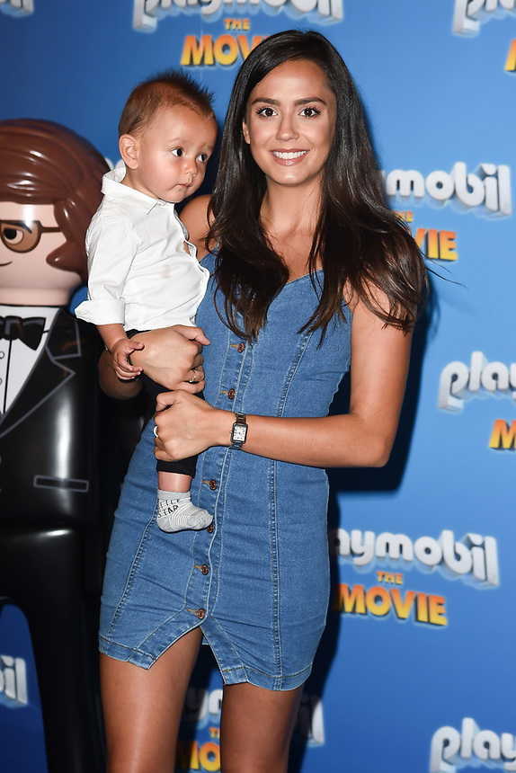 """Tyla Carr<br /> arriving for the """"Playmobil:The Movie"""" premiere at the Vue Leicester Square, London<br /> <br /> ©Ash Knotek  D3515  04/08/2019"""