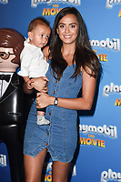 "Tyla Carr<br /> arriving for the ""Playmobil:The Movie"" premiere at the Vue Leicester Square, London<br /> <br /> ©Ash Knotek  D3515  04/08/2019"