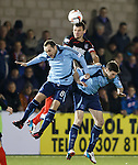 Lee McCulloch with Martyn Fotheringham and Chris Templeman