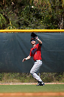 Illinois State Redbirds center fielder Sean Beesley (29) during a game against the Northwestern Wildcats on March 6, 2016 at North Charlotte Regional Park in Port Charlotte, Florida.  Illinois State defeated Northwestern 10-4.  (Mike Janes/Four Seam Images)