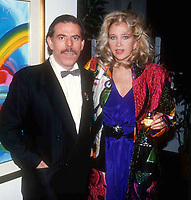 Peter Max & Sally Kirkland 1984 Photo by Adam Scull-PHOTOlink.net