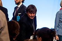 NICOLAS HULOT ARRIVE EN SALLE - 34EME SOMMET FRANCO-ITALIEN A LYON