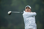 Lin Tzu-Chi of Chinese Taipei tees off at the 16th hole during Round 3 of the World Ladies Championship 2016 on 12 March 2016 at Mission Hills Olazabal Golf Course in Dongguan, China. Photo by Victor Fraile / Power Sport Images