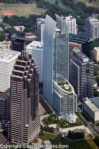 aerial photograph of 1180 Peachtree Street, Atlanta, Georgia