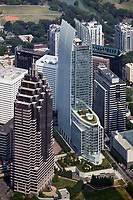 aerial photograph of 1180 Peachtree Street, Atlanta, Georgia