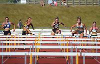 Women's elite 100m hurdles. 2021 Capital Classic athletics at Newtown Park in Wellington, New Zealand on Saturday, 20 February 2021. Photo: Dave Lintott / lintottphoto.co.nz